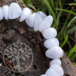 Chalcedony Bead Bracelet Mahaba