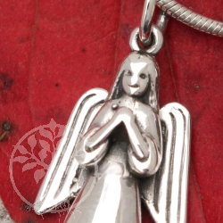 Angel Pendant silver jewellery 007