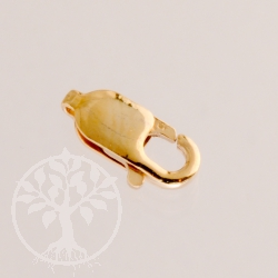 Gold Verschluß Karabiner Lobster Gold Filled 4x10mm 14 K 1/20