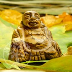 Landscape jasper gemstone buddha