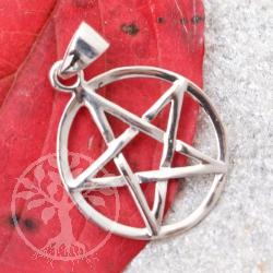Silberanhänger Pentagramm PE16