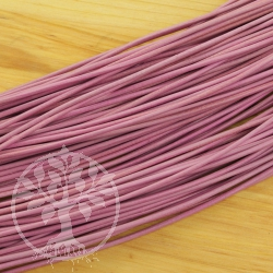 Leather ribbon -standard- goat round 1,5 mm pink