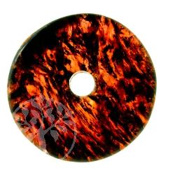 Granat Donut Edelstein Anhänger - Unikat 010 Granatenliebe
