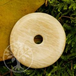 Mondstein Feldspat Donut 30 mm
