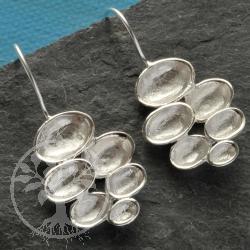 Silber Ohrhänger Kaskade Sterling Silber Ohrring