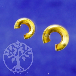 Kaschierperlen Gold offen 3mm goldfilled 14K 1/20