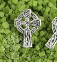 Silberohrstecker Kreuz Gotisch