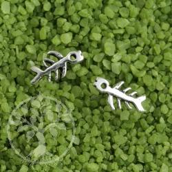 Fishbone Ohrstecker Fischgräten 925er Silber