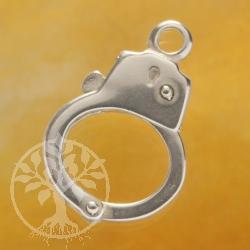 Silberverschluss Handschelle Kettenverschluss Silber 925
