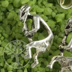 Kokopeli Earstud Sterlingsilver Earrings