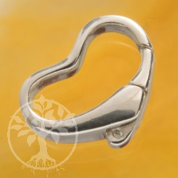 Heart Clasp without Ring