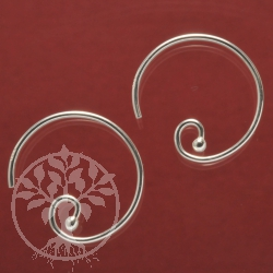 Circle Earring small 925 Silver Earrings Circle