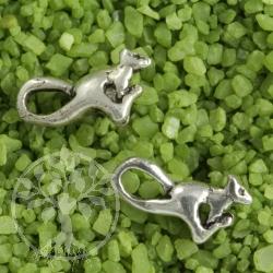 Springmaus Ohrstecker 925er Silber Ohrringe