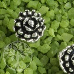 Ohrstecker Perlenblüte 925er Silber