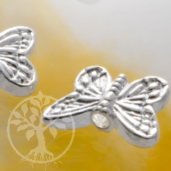 Schmetterling Flügelperle Zwischenperle Silberperle 925