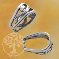 Silberöse Einhänger Fancy 925 Silber