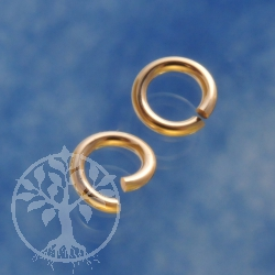 Gold Ring Offen 5.0x0.9mm Gold Filled 14K 1/20