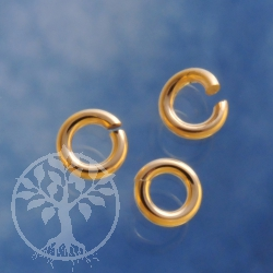 Gold Ring Offen 4.0x0.9mm Goldfilled 14K 1/20