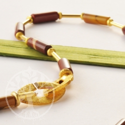 Mookaite Necklace Tube
