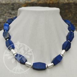 Lapis Lazuli Necklace Faceted