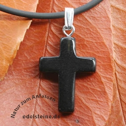 Onyx Cross Pendant small