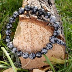 Self-discovery - Snowflake Obsidian
