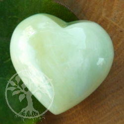 China Jade Tumbled Heart
