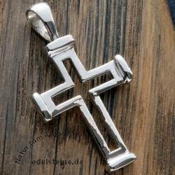 Silber Kreuz Anhänger SIKR32