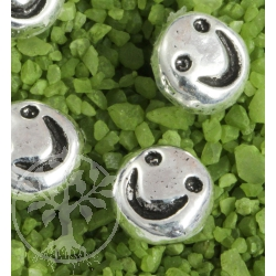 Smiley Ohrstecker Sterling Silber