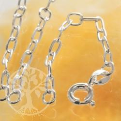 Verlängerungskette echt Silber flache Kettenglieder