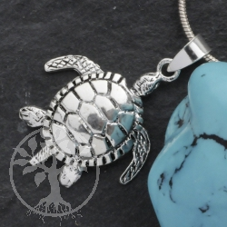 Schildkröte Anhänger beweglich klein