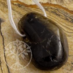 Tourmaline Dravit Black Pendant 0129
