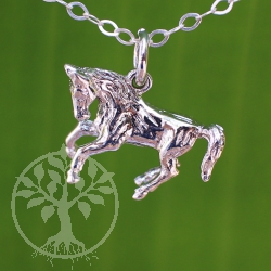 Horse Silver Pendant and Charm Silver 925