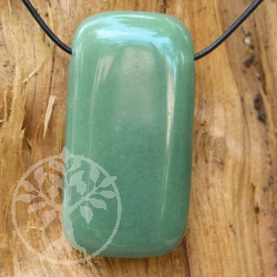 Aventurine Pendant Rectangle 60/30mm big
