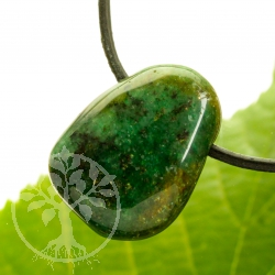 Green Fuchsite Pendant 25x20mm
