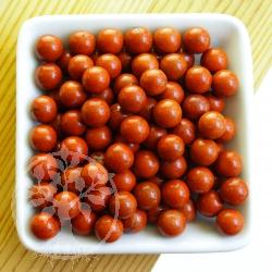 Roter Jaspis Kugel 8 mm kleine Steinkugel