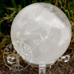 Bergkristall Edelstein Kugel