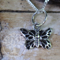 Schmetterling Silberanhänger Silber 925