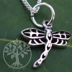 Libelle Sterling Silber Anhänger 925