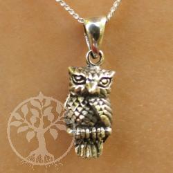 Owl Pendant Evelin Silver925 Pendant