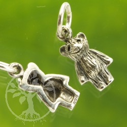 Teddy Silver Pendent 925