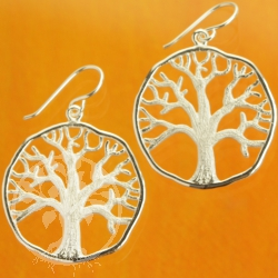Frozen Tree Earrings Sterlingsilver