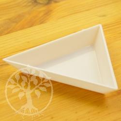 Kleine Schale Dreieck 70 x 10 mm Perlenzähler Hilfe