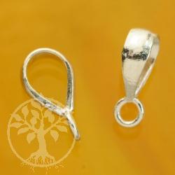 Silberöse für Ketten mit Ring Kettenöse Einhänger Silber 925 Anhänger 10x3mm