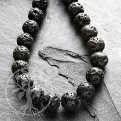 Lava Perlen Kugel 4-5mm Ø ca. 40cm