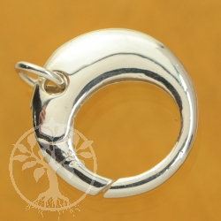 Ring Tigger Clasp 18 mm polished