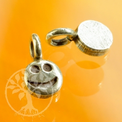 Smiling face in 925 silver 925 pendant