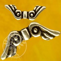Engel Flügel Perlen Luft Silber Perlen 925 Flügelperlen