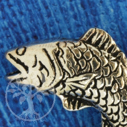 Fische / Fische Sternzeichen Sterling Silber Anhänger 925
