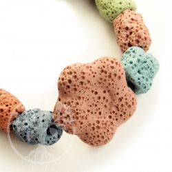 Lava Armband für Kinder und Jugendliche Bunte Blume Honolulu